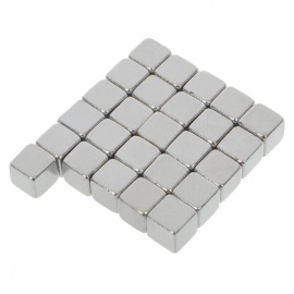 Super-Strong Rare-Earth Square RE Magnets (30-Pack)