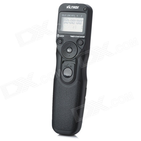 Digital Timer Remote Switch Trigger pour Sony Alpha DSLR-A100 + Plus (2 * AAA)