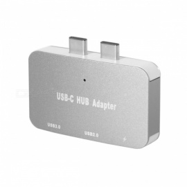 CY UC-069 dual USB 3.1 type-c til USB-C og USB 3.0 og 2.0 kvinnelig OTG-kabel for ny macbook pro