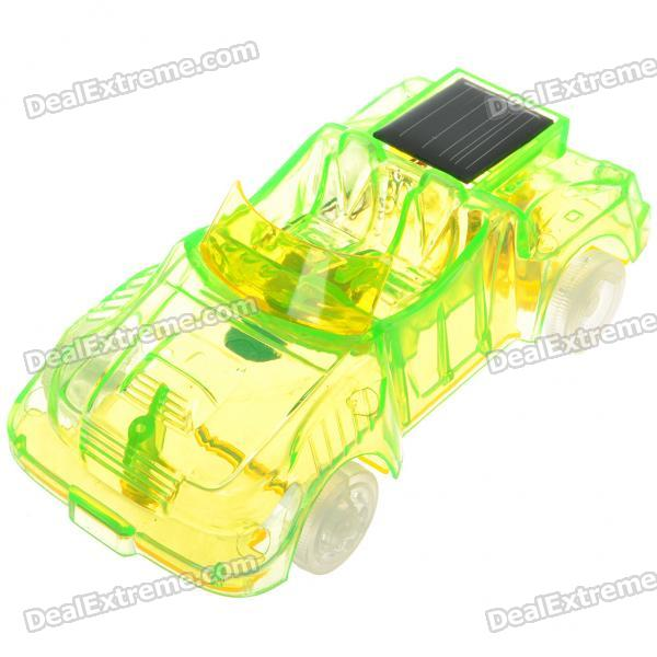 1:32 Scale Solar Powered Sport Car Toy (Green)