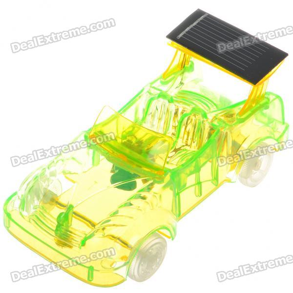 1:33 Scale Solar Powered Racing Car Toy (Green)