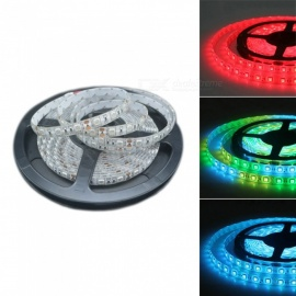 ZHAOYAO 5050SMD 30-led / m 5m impermeable a todo color RGB tira flexible de luz LED suave para barra KTV