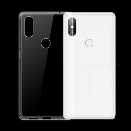 Dayspirit Ultra-Thin Protective TPU Back Case for Xiaomi Mi Mix 2s - Transparent