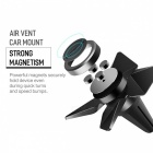 ROCK Tornado Magnetic Car Phone Holder Rotary Magnet Air Vent Car Mount Holder Stand for IPHONE Plus Samsung Huawei Xiaomi