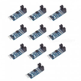 Produino 10PCS LM393 Comparator Speed Sensor Module for Arduino - Blue