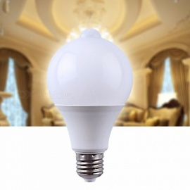 MIFXION E27 7W Intelligent Control PIR Motion Sensor 18-SMD 2835 LED Lamp Light Bulb Spotlight Home Lighting