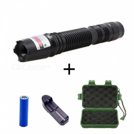 ZHAOYAO 532nm High Power Green Laser Pointer Pen w  Battery + Charger +  Gift Box 12048bf249a