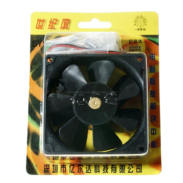 PC Chassis Cooling Fan (8cm)