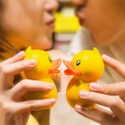 Cute Duck Style Mini Portable Large Capacity 5200mAh Li-Polymer Battery Power Bank Doll Toy - Yellow