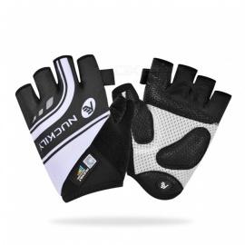 NUCKILY PC05 Summer Highway Cycling Half-Finger Gloves Bicycle Mountain Bike Equipment