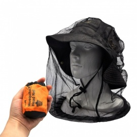 AceCamp Mosquito Headnet Ultra-fine Nylon Mesh Outdoor Travel Camping Hiking Cycling Anti-mosquito Summer Essential Accessory