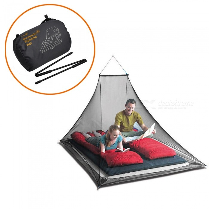 AceCamp Mosquito Pyramide For 2 Ultra-fine Nylon Mesh Net Outdoor Travel Camping Sting Prevent Anti-mosquito Summer Essential