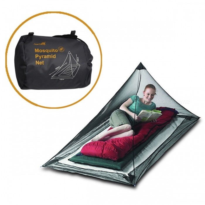 AceCamp Mosquito Pyramide For 1 Ultra-fine Nylon Mesh Net Outdoor Travel Camping Sting Prevent Anti-mosquito Summer Essential