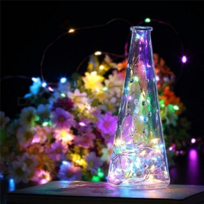USB Powered 10M 100-LED Copper Wire String Light, Indoor Outdoor Decoration Fairy Lamp Multicolor Light