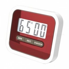 Large LCD Display Multifunction Kitchen Cooking Timer Count-Down Clock Loud Alarm Magnetic Back