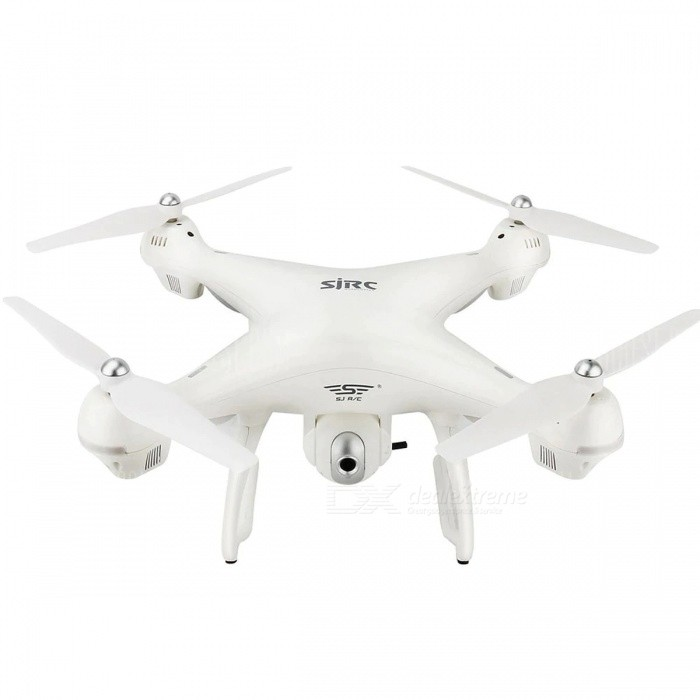 SJRC S70W 2.4GHz GPS WiFi FPV Drone with 720P Wide Angle HD Camera RC Drone - White