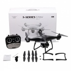 SJRC S70W 2.4GHz GPS WiFi FPV Drone with 720P Wide Angle HD Camera RC Drone - Black
