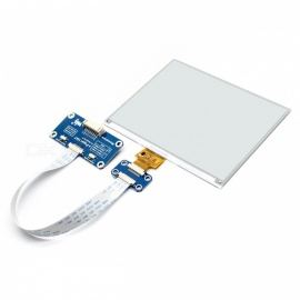 Waveshare 600x448, 5.83inch E-Ink Display HAT Module for Raspberry Pi, SPI interface