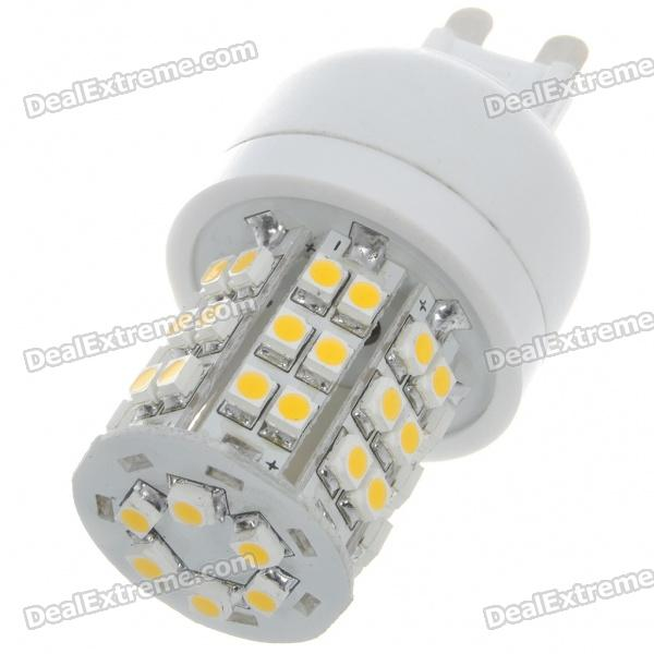 G9 2,5 W 3200K 140-Lumen 48-SMD LED Warm White Light Bulb (220-240V)