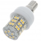 E14 2.5W 140lm 48-SMD LED 3200K Warm White Light Bulb (220~240V)