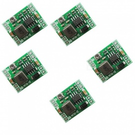 ZHAOYAO 5PCS Ultra-Small Size DC-DC Step Down Power Supply Modules 3A Adjustable Buck Converter for Arduino