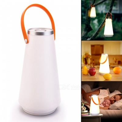 Dimming Atmosphere Small Night Light LED, Outdoor Camping Lamp - Warm White