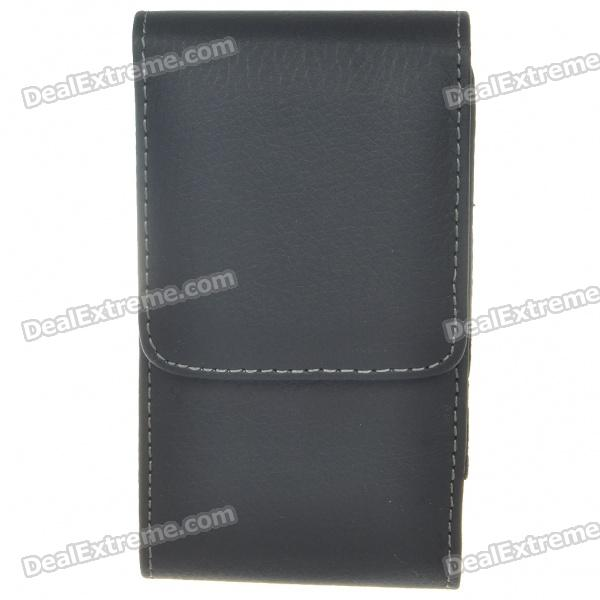 Protective PU Leather Case with Clip for Nokia N8/C7 (Black) nokia n8 в сумах