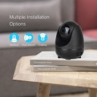 OPTJOY QC21 1080P HD WiFi IP Camera, Wireless Indoor Camera With Motion Tracking, Night Vision, Motion Detection, Two Way Audio