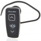 Bluedio A398 Bluetooth V2.1+EDR Handsfree Headset w/ Microphone - Black (2-Hour Talk/50-Hour Stby)