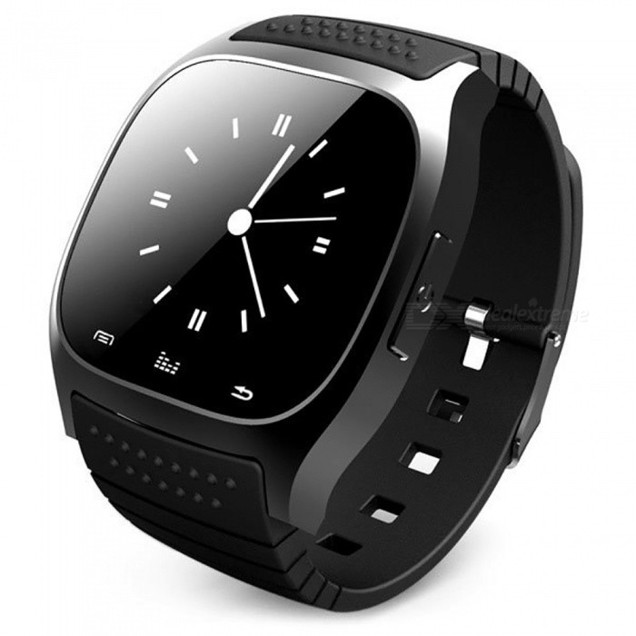 ESAMACT Smartwatch M26 Bluetooth Smart Watch with LED Alitmeter Music Player Pedometer for Android Smart Phone