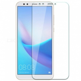 Naxtop 2.5D Tempered Glass Screen Protector for Huawei Y7 Prime (2018) - Transparent