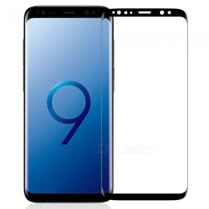 3D Ultra-thin 9H Full Screen Explosion-Proof Tempered Glass Film Screen Protector for Samsung Galaxy S9 Plus