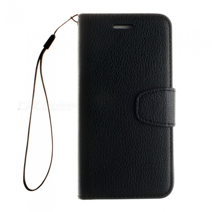 Dayspirit Lichee Pattern Leather Case for IPHONE 6 Plus, 6S Plus - Black