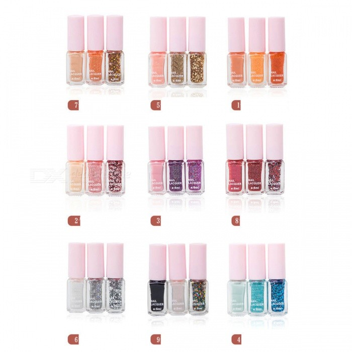 Vernis ongles maxdona vernis ongles 3 couleurs for Cocktail 3 couleurs