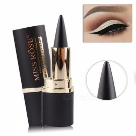 MISS ROSE Makeup Eyes Pencil Long-lasting Black Gel Eye Liner Waterproof Cosmetic Eyeliner