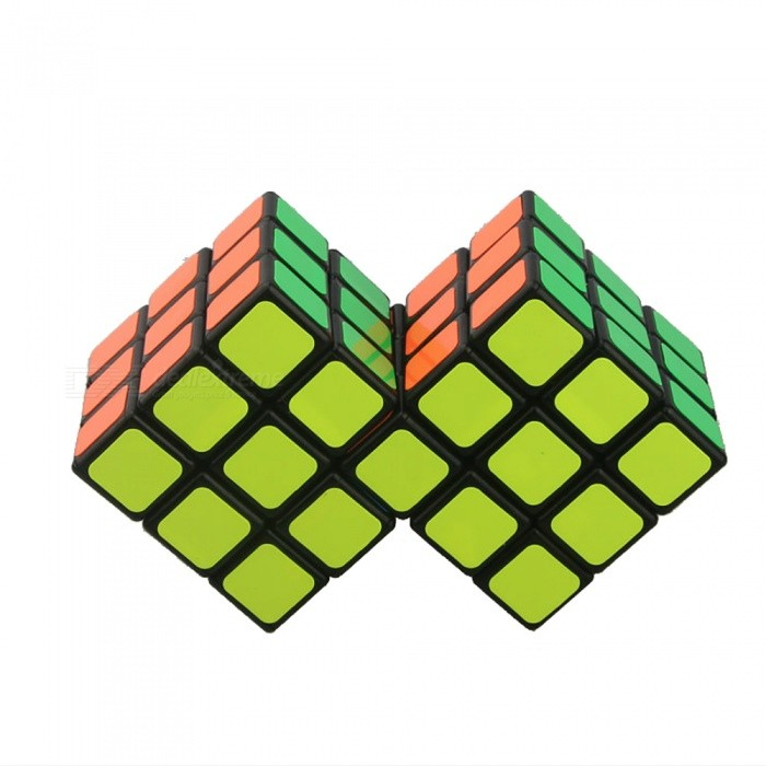 Twist Double Speed Cube Smooth Magic Cube Finger Puzzle Toy