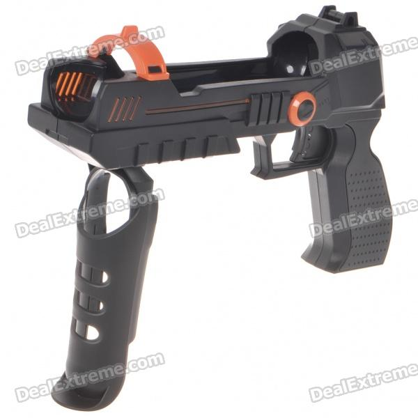 Shooting Equipment Gun Pistol Adapter for Motion Controller PS3 Move - Black sony move motion controller