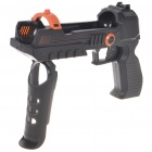 Shooting Equipment Gun Pistol Adapter for Motion Controller PS3 Move - Black