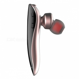 AWEI N1 Bluetooth Headphones Wireless Earphone Cordless Headset with Microphone - Rose Gold