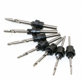 ZHAOYAO 7Pcs Countersink Drill Bit Set