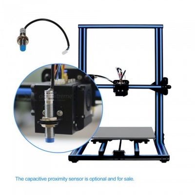Geeetech A30 Large Volume 3D Printer Kit w/ Touch Screen - Blue (EU Plug)