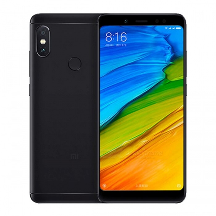 "Xiaomi Redmi Note 5 5.99"" 18:9 Full Screen Octa-Core Smart Phone w/ 4GB RAM, 64GB ROM - Black"