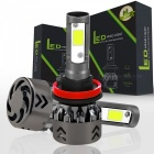 Qook New Mini6 H8 H9 H11 Car LED Headlights