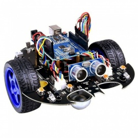 ESAMACT Smart Bat Robot, Intelligent Programming Bluetooth Control Car Kit with Arduino UNO R3 Board for Kids