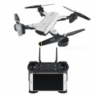 SG700 Wi-Fi FPV Foldable Selfie Mini RC Helicopter Quadcopter Drone with 0.3MP Camera - White