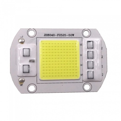 ZHAOYAO 50W 5000lm 220V 144-COB LED Integrated Lamp Bead Cold White Light