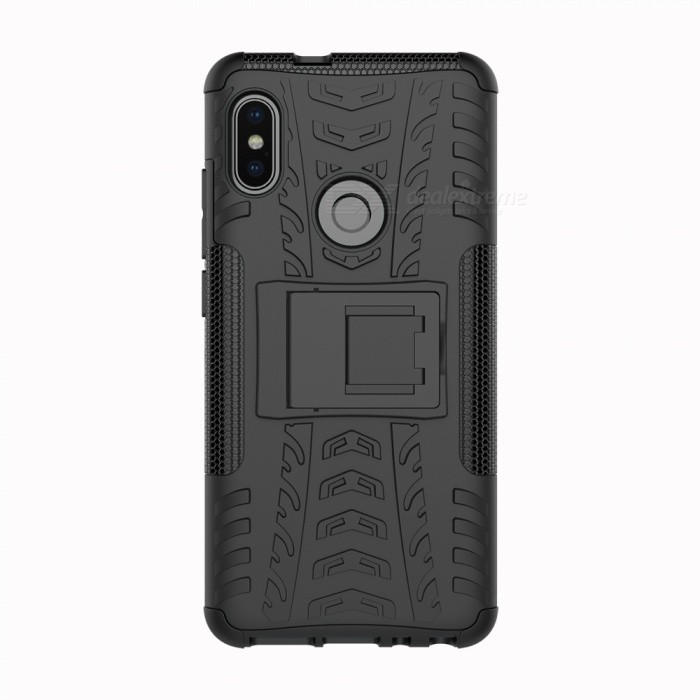 Protective Back Cover Case With Stand For Xiaomi Redmi Note 5