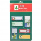 Vintage Gift Tags (100-Piece Pack)