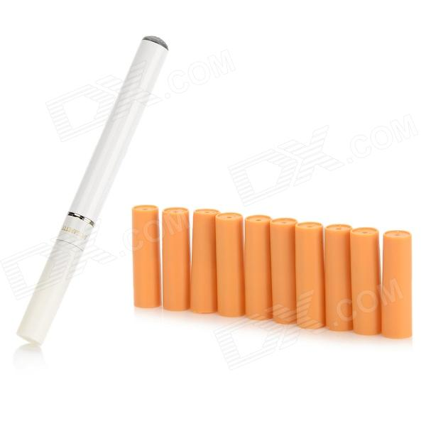 Quit Smoking USB Rechargeable Electronic Cigarette with 10-Refills