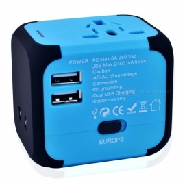 Jtron Multi-National Travel Adapter, USB Charger